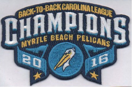 Myrtle Beach Pelicans Back to Back Carolina League Champions
