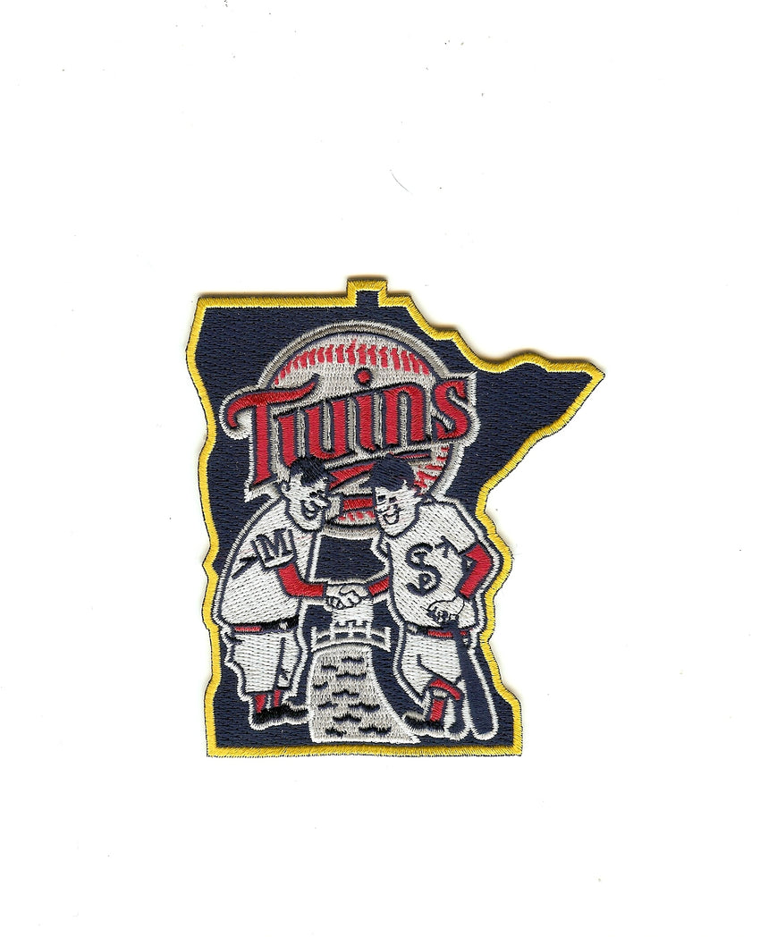 "Minnesota Twins ""Shaking Hands"" Alternate Patch (2010-2014)"