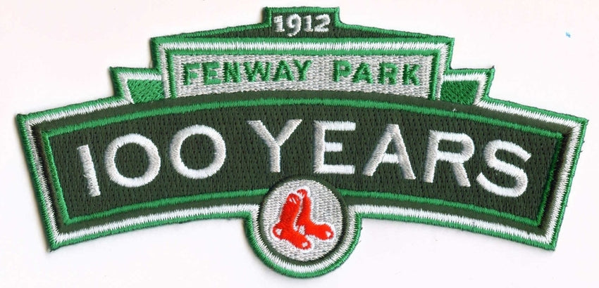 "Boston Red Sox ""Fenway Park 100 Years"" Patch"