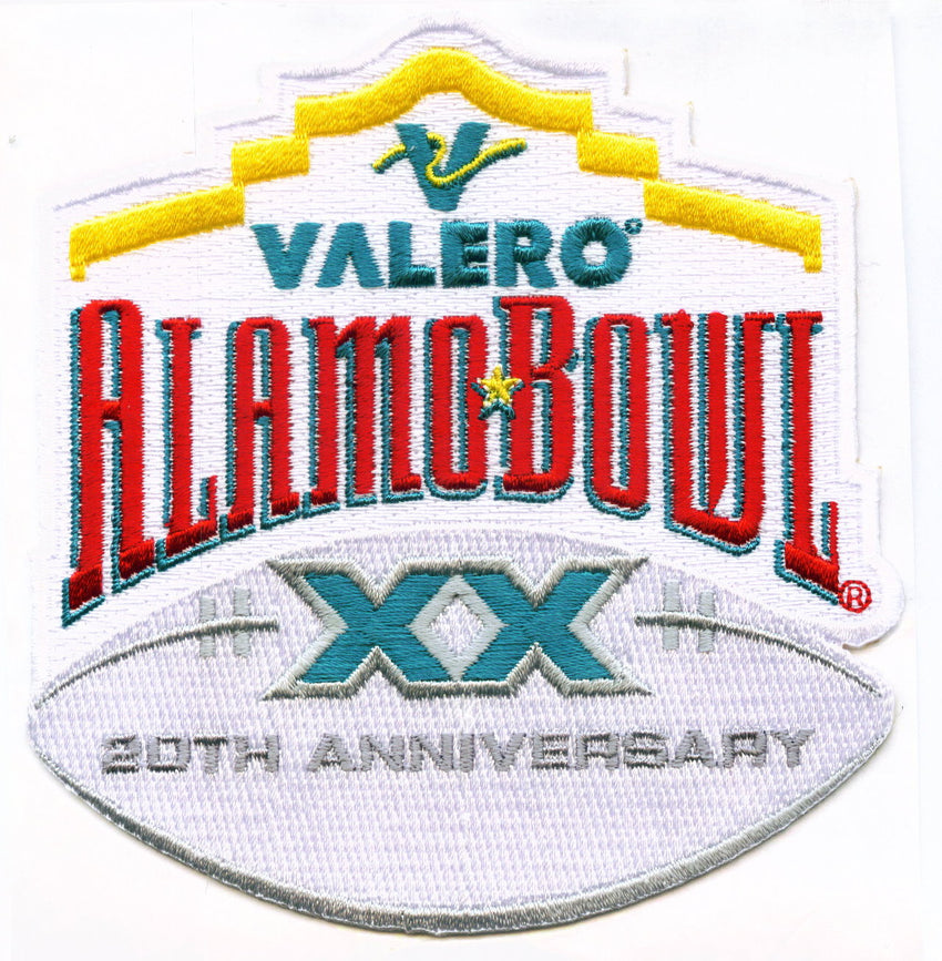Valero Alamo Bowl 20th Anniversary Patch