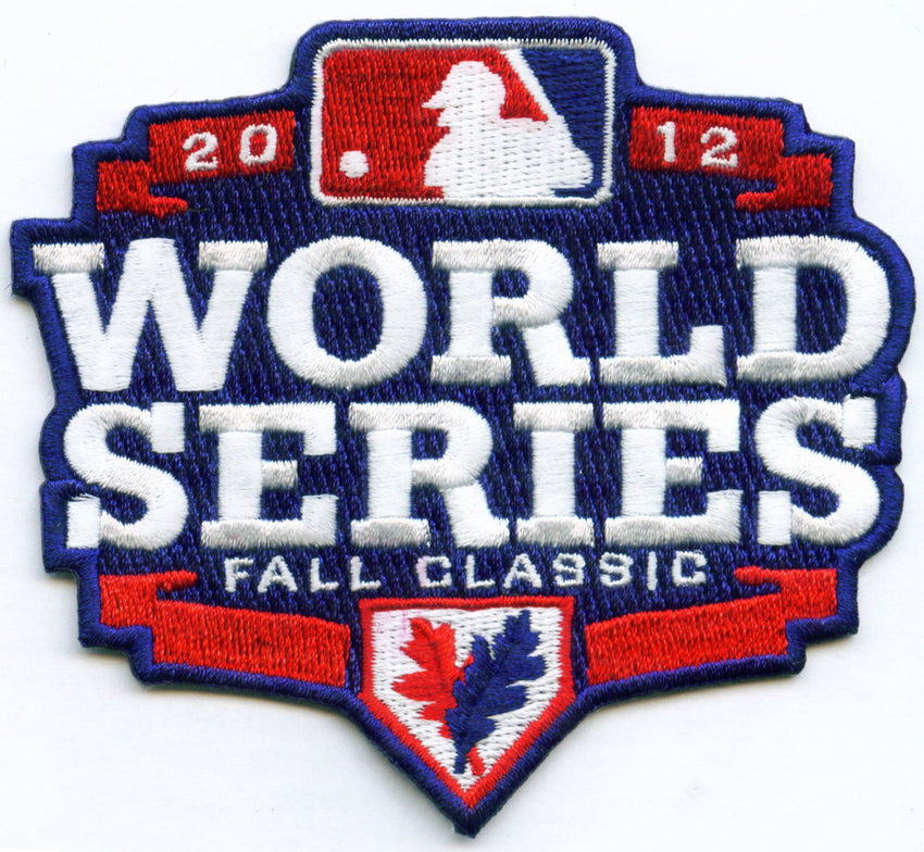 2012 World Series Patch