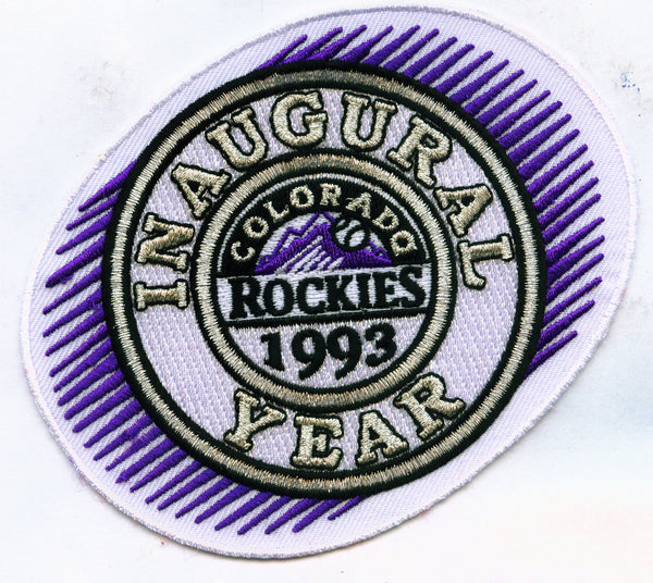 Colorado Rockies 1993 Inaugural Season Patch