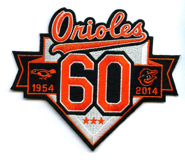 Baltimore Orioles 60th Anniversary Patch
