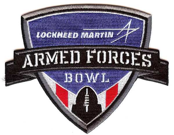 Lockheed Martin Armed Forces Bowl Patch