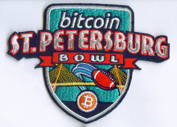 Bitcoin St. Petersburg Bowl Patch