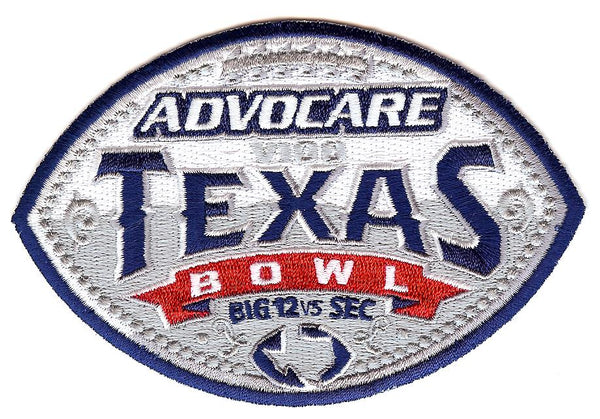 Advocare V100 Texas Bowl Patch
