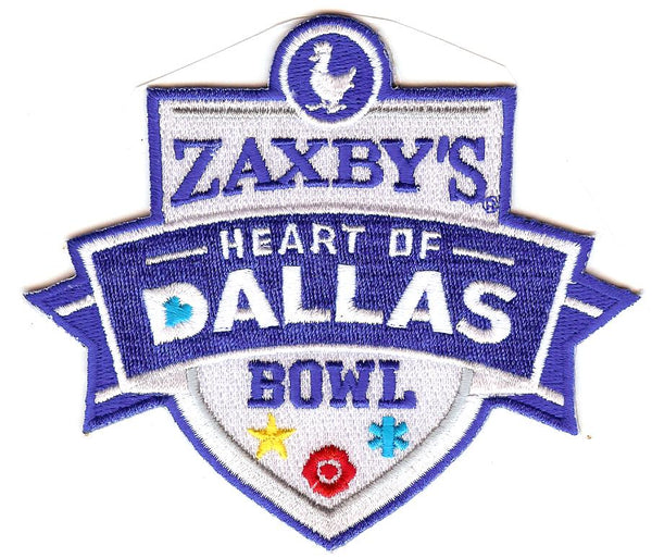 Zaxby's Heart of Dallas Bowl Patch