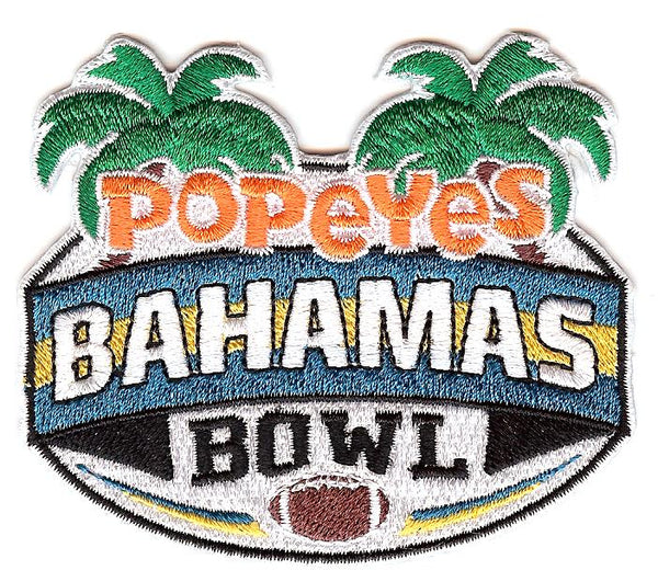 Popeye's Bahamas Bowl Patch