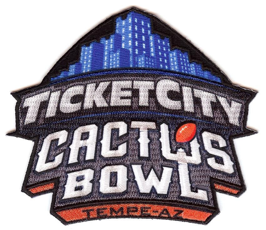 Ticket City Cactus Bowl Patch
