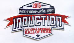 2015 National Baseball Hall of Fame Induction Patch
