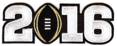 2016 College Football Playoff National Championship Patch Black (Worn by Clemson)
