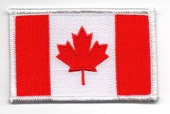 Canada Flag Embroidered Hat Patch