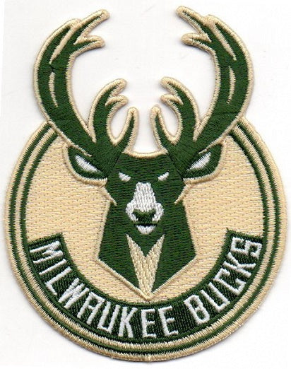 Milwaukee Bucks Primary Logo Patch