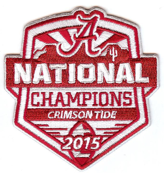 2015 University of Alabama National Champions Patch