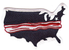 Lehigh Valley IronPigs USA Bacon Patch