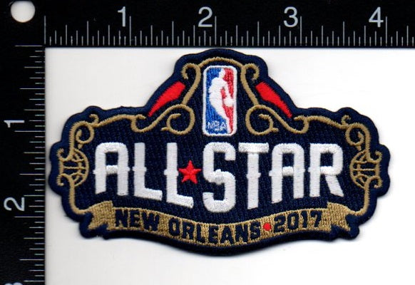 2017 NBA All Star Game Patch (New Orleans)