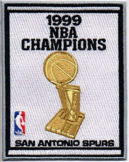 San Antonio Spurs 1999 NBA Champions Banner Patch