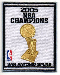 San Antonio Spurs 2005 NBA Champions Banner Patch