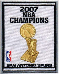 San Antonio Spurs 2007 NBA Champions Banner Patch