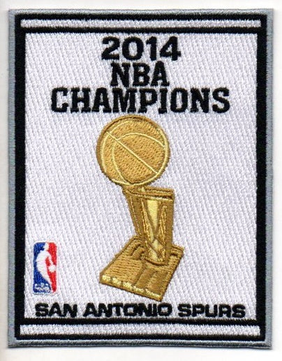 San Antonio Spurs 2014 NBA Champions Banner Patch