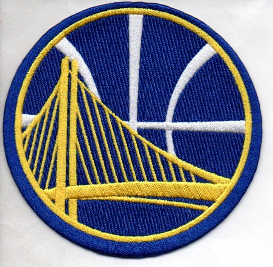 Golden State Warriors Alternate Logo Patch