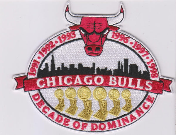 Chicago Bulls Decade of Dominance Patch