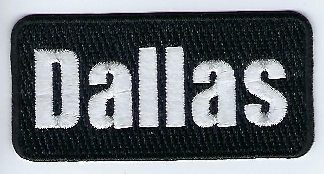 Dallas Patch (Black)