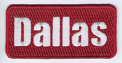 Dallas Patch (Maroon)