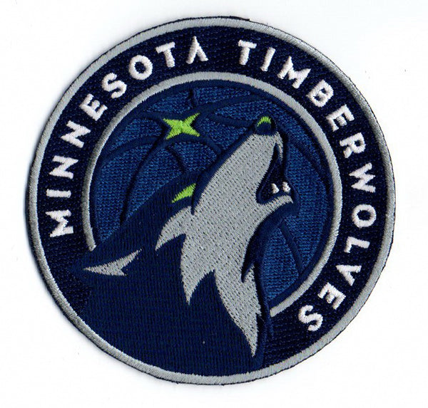 Minnesota Timberwolves Primary Logo Patch (2017)