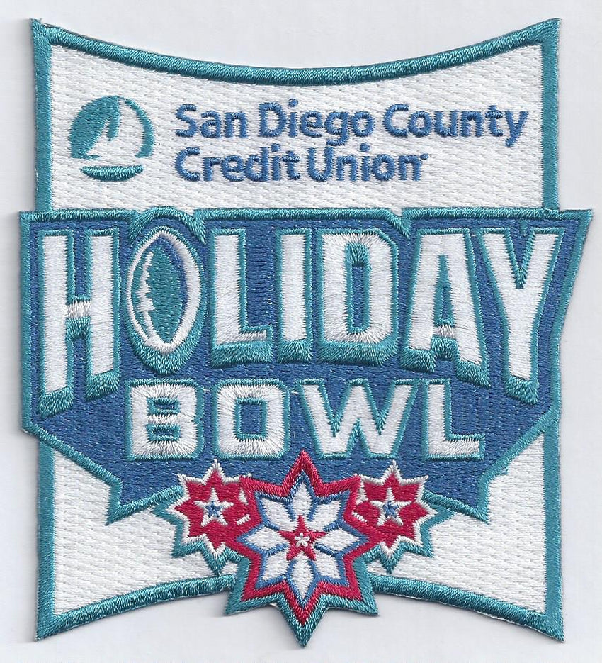 San Diego County Credit Union Holiday Bowl Patch