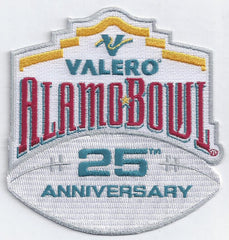Valero Alamo Bowl 25th Anniversary Patch