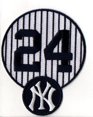 New York Yankees Pinstripe #24 FanPatch (Gary Sanchez)