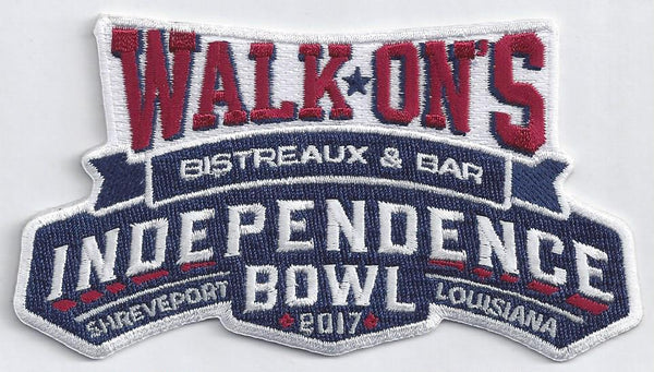 Walk-On's Independence Bowl Patch (2017)