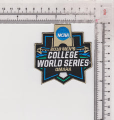 2018 Men's College World Series Patch