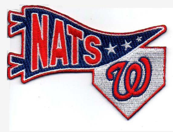 Washington Nationals Pennant FanPatch