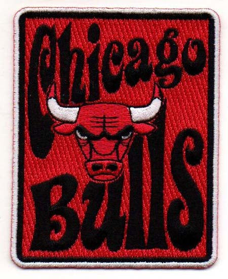 "Chicago Bulls ""Groovy"" FanPatch"