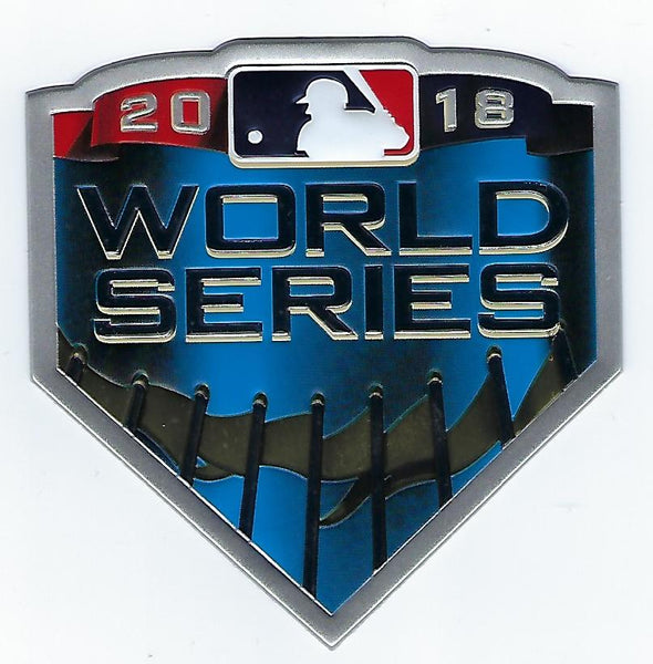 2018 Major League Baseball World Series EmbossTech Patch