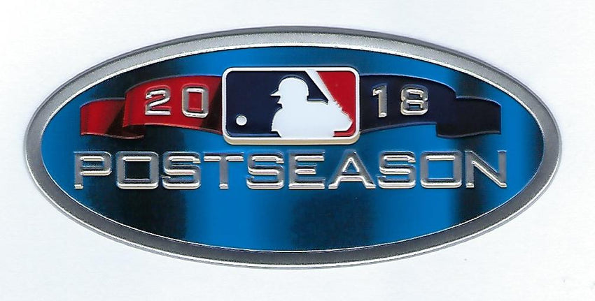 2018 Major League Baseball Postseason EmbossTech Patch