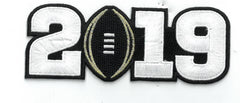 2019 College Football Playoff National Championship Patch Black (worn by Alabama)