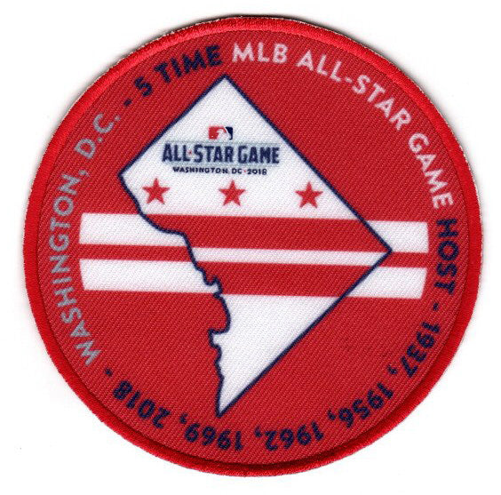 "2018 All Star Game ""5 Time"" FanPatch (Washington Nationals)"