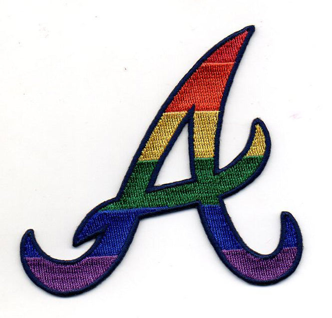 Atlanta Braves Pride FanPatch