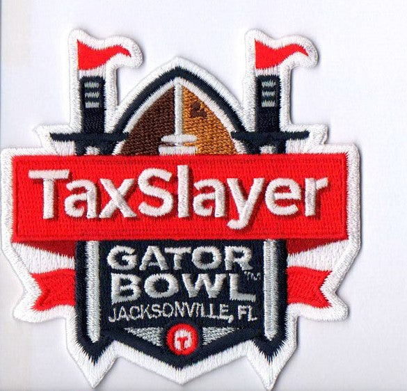 Taxslayer Gator Bowl Patch