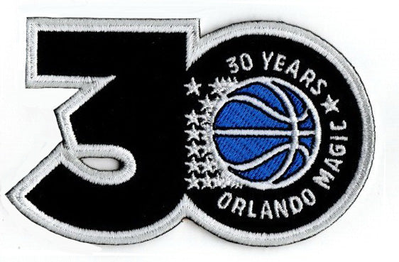 Orlando Magic 30th Anniversary Patch