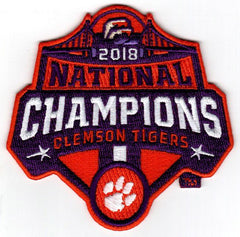 2018 Clemson Tigers National Champions Patch