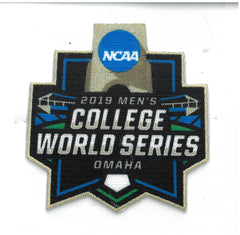 2019 Men's College World Series Patch