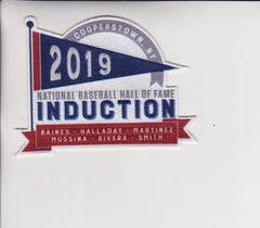 2019 National Baseball Hall of Fame Induction Patch