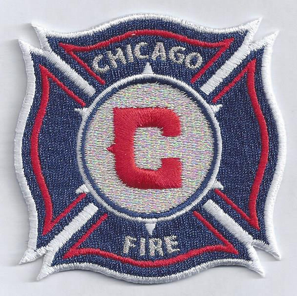 Chicago Fire Soccer Club Patch