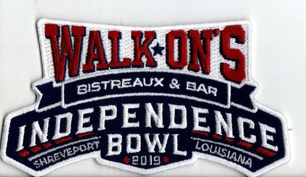 Walk-On's Independence Bowl Patch 2019