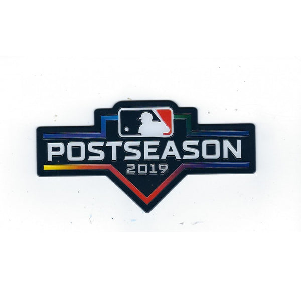2019 MAJOR LEAGUE BASEBALL POSTSEASON EMBOSSTECH PATCH