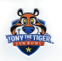 Tony the Tiger Sun Bowl Patch 2019